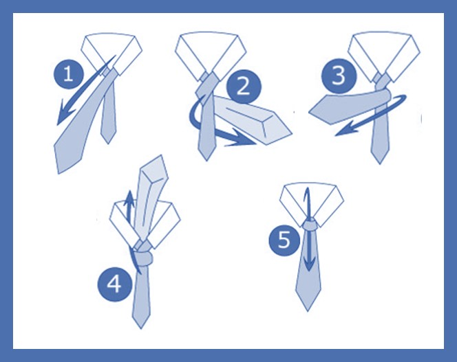 How to wear a tie in 5 simple steps